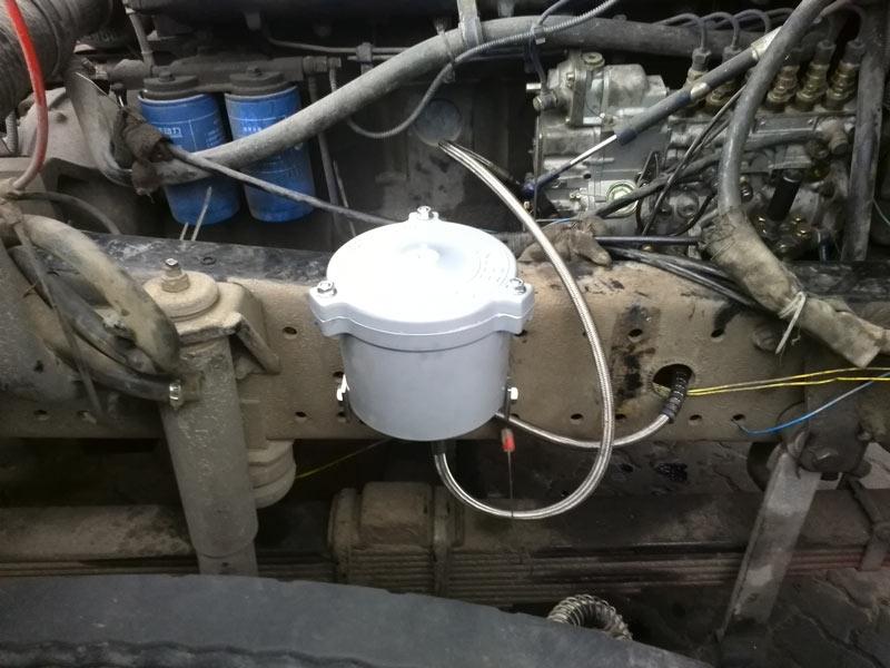 货车安装kleenoil旁路过滤器在线过滤机油系统s